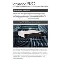 Sign up to the antennaPRO E-Newsletter